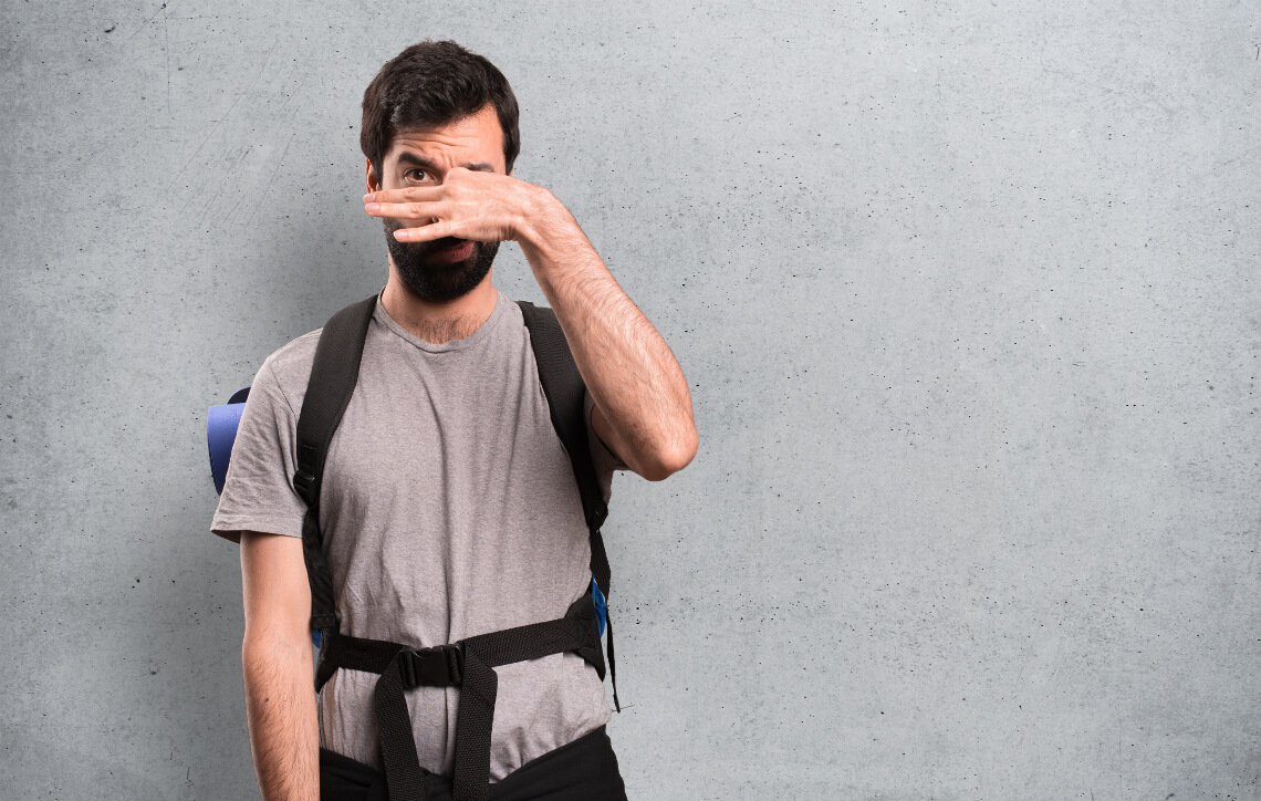 The best ways to get a smell out of a backpack