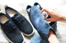 How to remove stains and clean suede shoes yourself