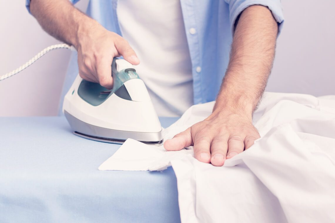 How to iron men's shirts without a single fold