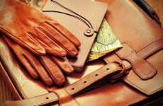 How to care smooth leather gloves