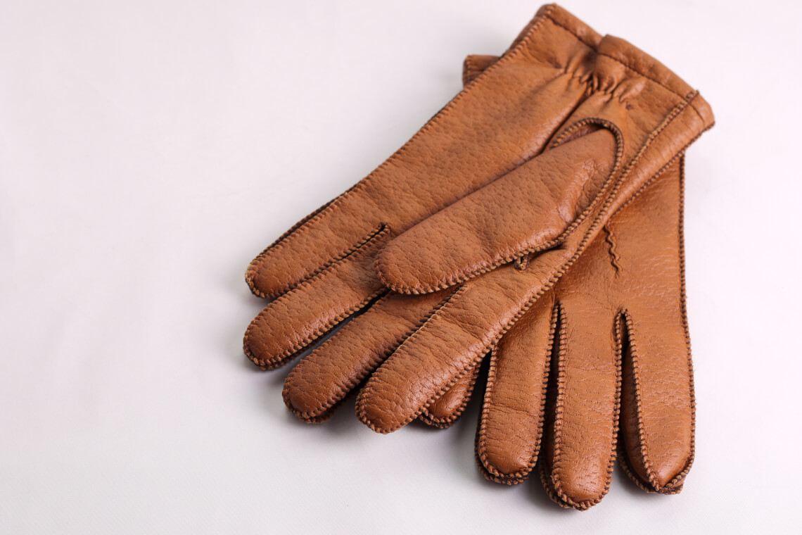 Ways to clean leather gloves