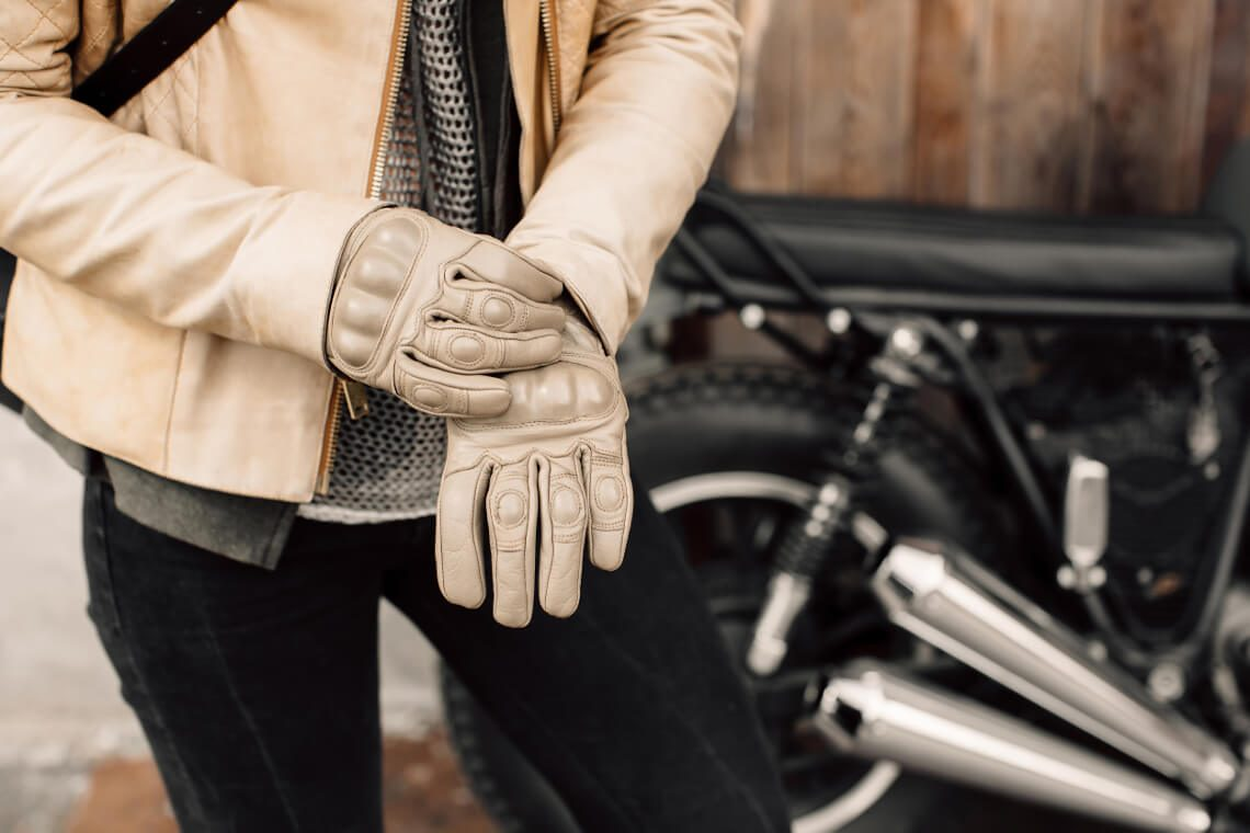 What to do if light leather jacket fouled