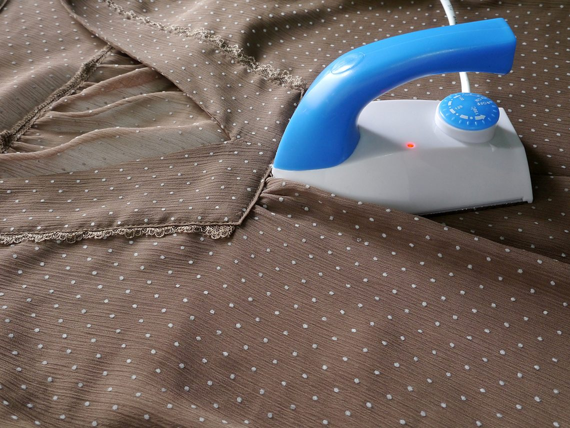 How to Iron a Chiffon Blouse, Dress or Scarf