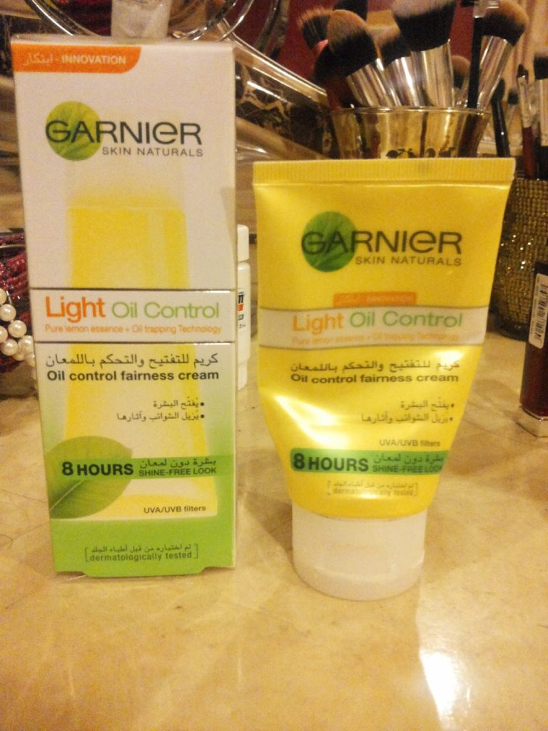 Oil control fairness cream Garnier